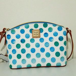 Dooney & Bourke Ruby Dots Crossbody Handbag Purse